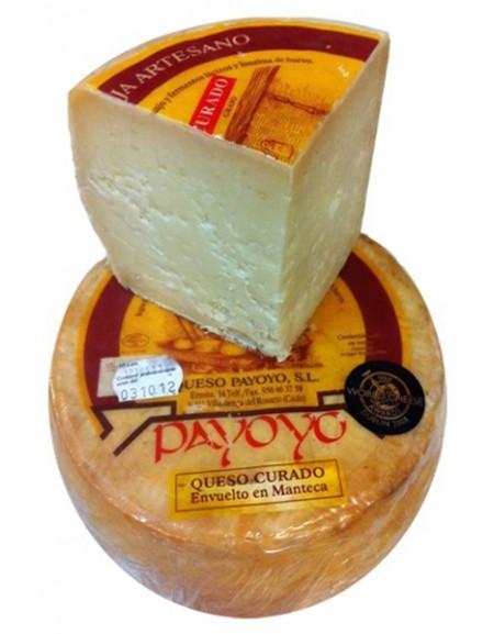 Cuña de queso Payoyo curado oveja en manteca