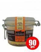 Foie gras d'oie entier, 90 gr. Biraben