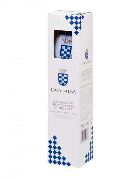 Acorn Sausage (Salchichón) 100% Iberian Casa de Alba Exclusive Selection