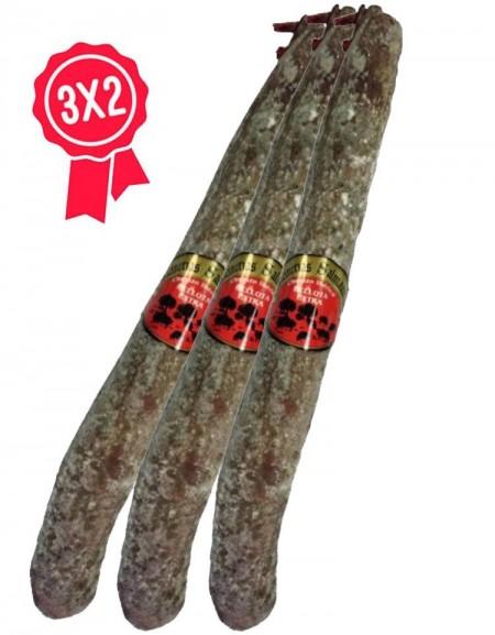 Chorizo Ibérico bellota Chacinerias Salmantinas Lote 3x2
