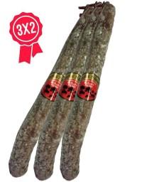 Pack 3x2 Spanish acorn chorizo extra (pork sausage)