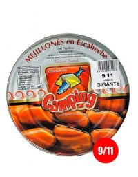 Pickled mussels Camping (9/11 units)