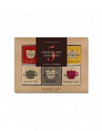 Surtido 18 chocolatinas Café-Tasse (5 sabores)