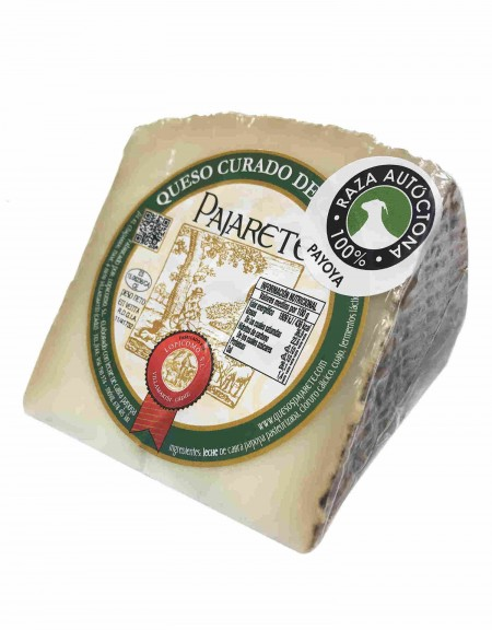 Pajarete's goat's cured cheese - wedge
