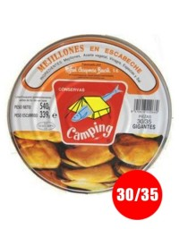 Pickled mussels Camping (30/35 units)