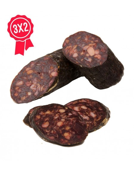 Pack 3x2 IIberian sausage (morcilla)