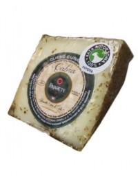 Morceau de fromage Pajarete de chèvre au romarin