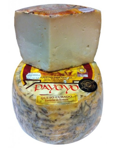 Payoyo sheep cheese with Rosemary wedge