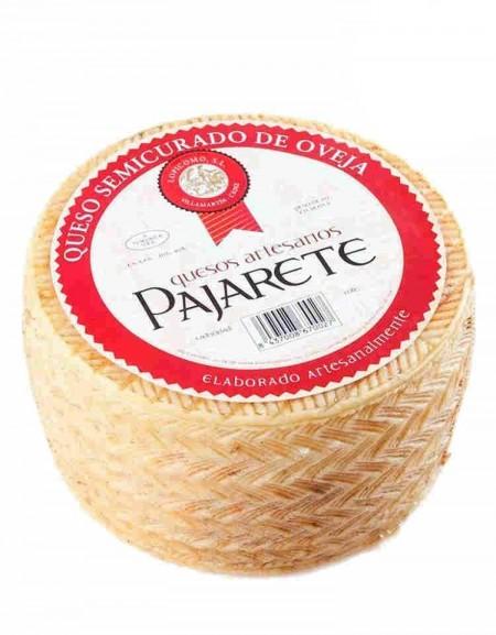 Pajarete's Sheep's semi cured cheese