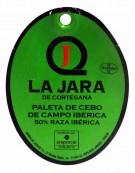 Jabugo Iberian cebo shoulder ham