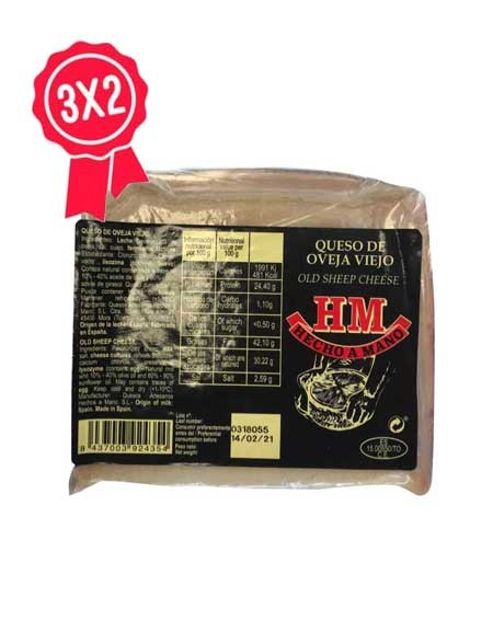 Cuña de queso de oveja viejo HM