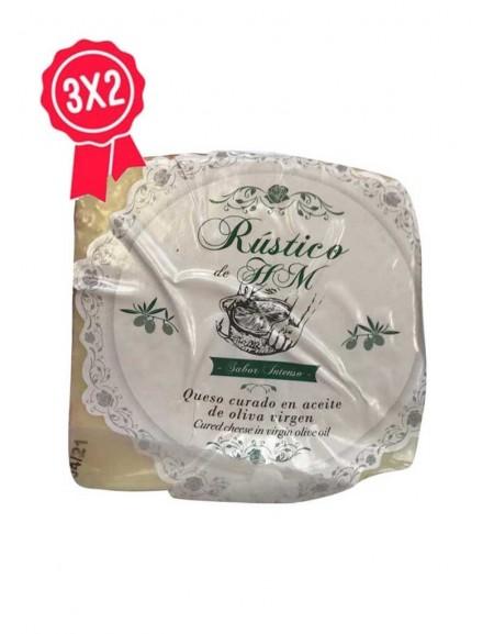 Cuña de queso de oveja en aceite HM