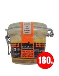 Foie gras de canard entier mi-cuit 180 gr