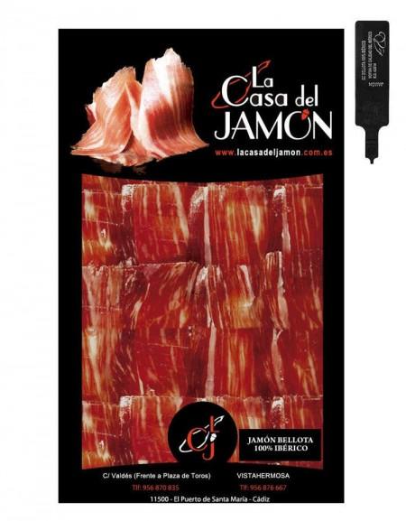 Summum Acorn 100% Iberian Ham from Jabugo sliced