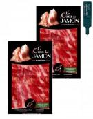 Cebo Iberian ham sliced