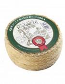 Pajarete's goat's cured cheese