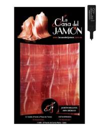 Jambon pata negra 100% Iberique tranché 100 gr