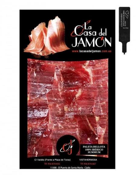 Shoulder Ham Bellota Summum O.D. sliced