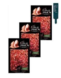Lote 3x2 Taquitos de jamón cebo de campo 50% ibérico 100 gr