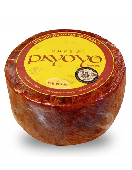 Fromage brevis Payoyo au paprika