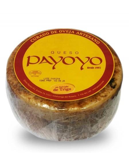 Fromage de brebis endurci Payoyo au de son de ble