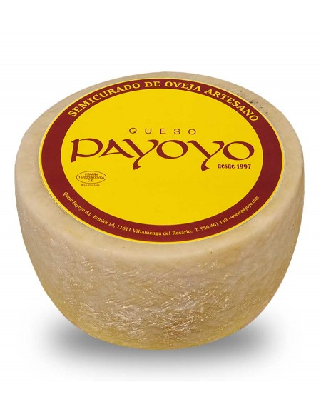 Payoyo Semi-cured sheep cheese