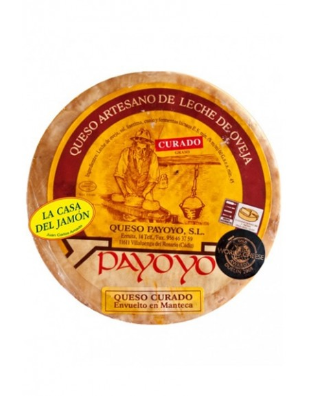 Payoyo's Sheep's cured cheese in butter