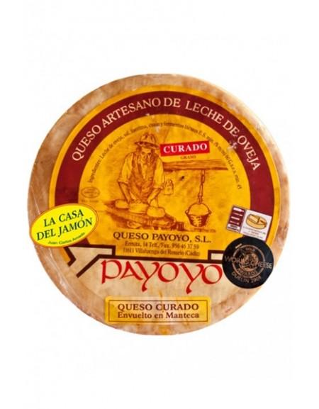 Queso Payoyo curado de oveja en manteca