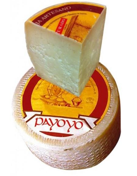 Cuña de queso Payoyo curado oveja | Comprar quesos payoyo en La Casa del Jamón