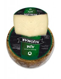 Cuña de queso curado puro de oveja A.J.M.