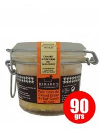 Whole duck foie gras mi-cuit, 90 gr.