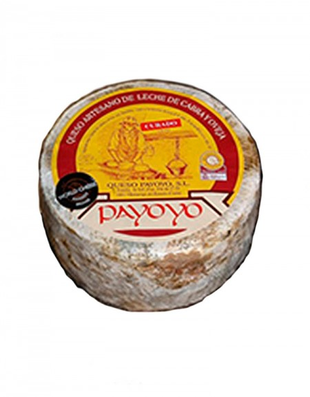 Payoyo cured goat and sheep cheese in butter
