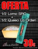 1/2 Lomo SRC + 1/2 Queso La Orden