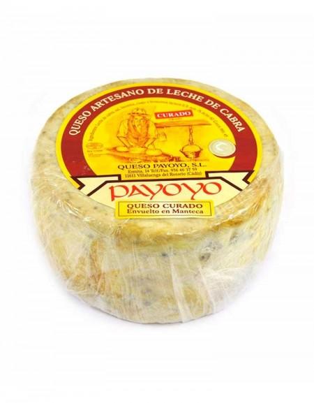 Queso Payoyo curado de cabra en manteca