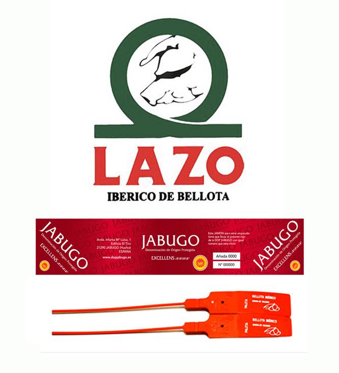 jamón certificado 75% ibérico, precinto rojo