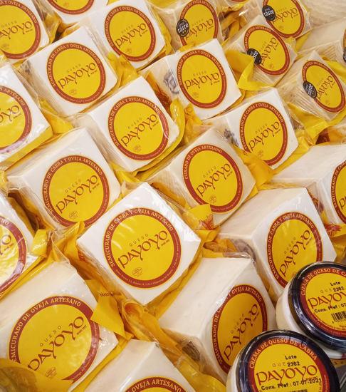 Quesos payoyo, cuñas de queso artesano de la Sierra de Cádiz